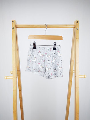 George unicorn pyjama shorts 3-4 years
