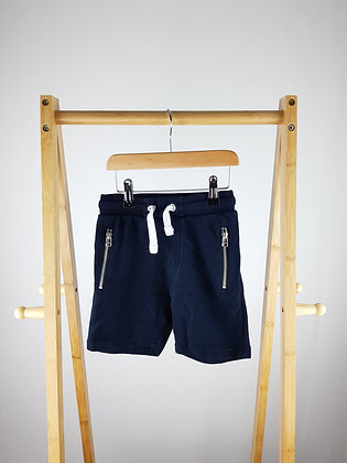 George navy shorts 5-6 years
