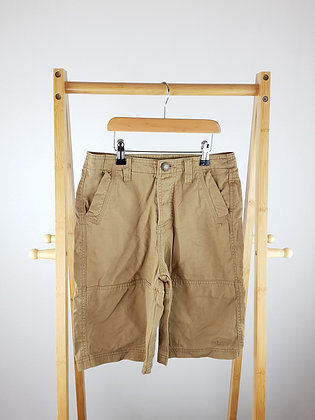 Lee Cooper brown shorts 9-10 years