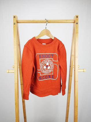GAP orange sweater 4-5 years