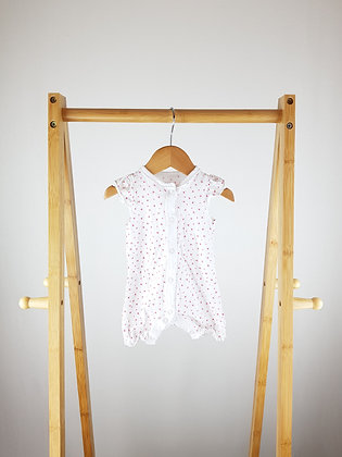 F&F floral romper up to 1 month