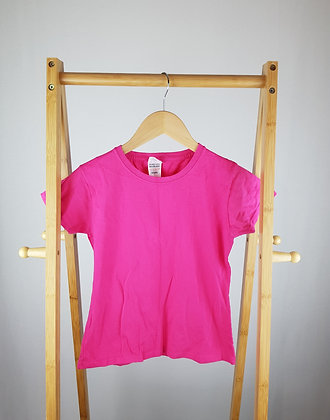 Fruit of the loom pink t-shirt 9-10 years