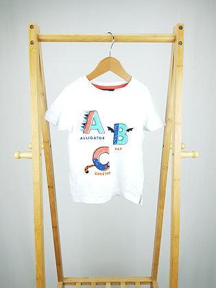 George abc t-shirt 2-3 years