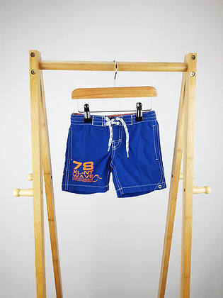 H&M blue shorts 2-4 years