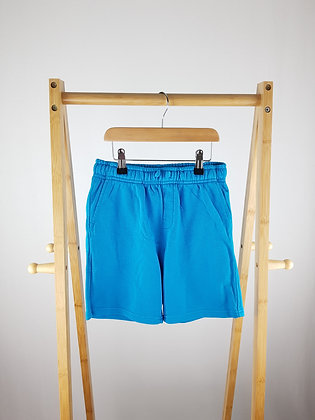 George blue shorts 8-9 years