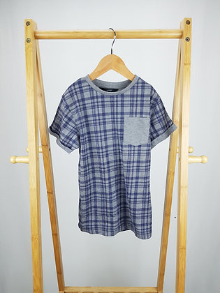 George checked t-shirt 7-8 years