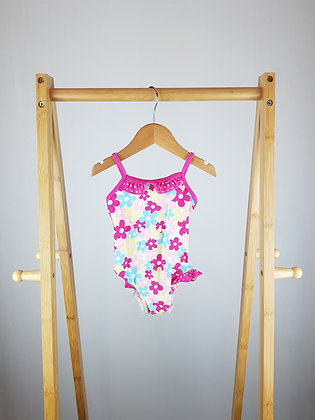 Matalan floral swimsuit 12-18 months