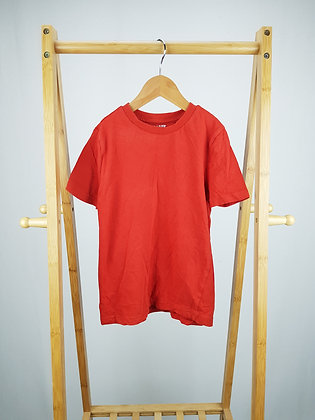 F&F red t-shirt 6-7 years