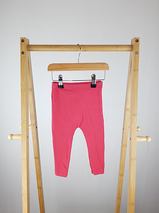 George pink leggings 9-12 months