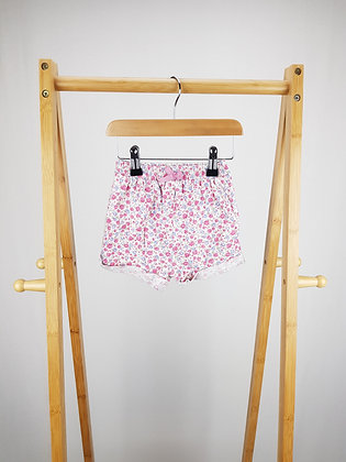 George floral shorts 12-18 months
