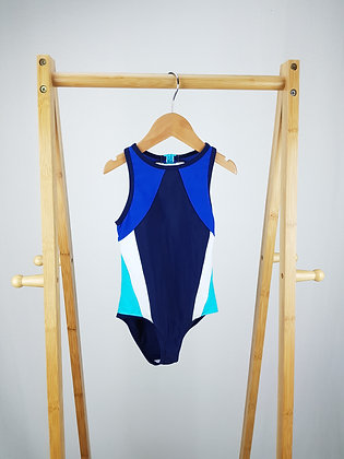 M&S blue mix swimsuit 4-5 years