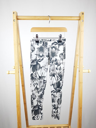 George floral leggings 7-8 years