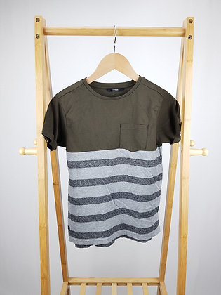 George striped t-shirt 9-10 years