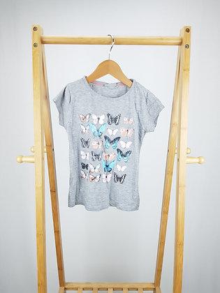 Matalan butterfly t-shirt 6-7 years