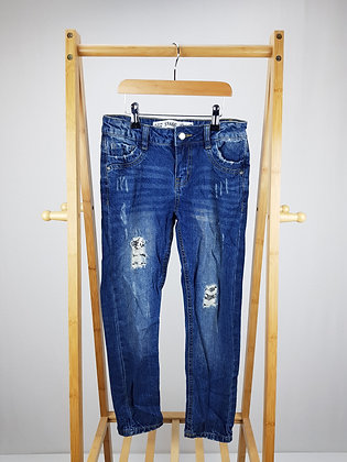 Denim Co straight sequin detail jeans 9-10 years