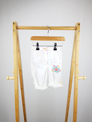 George embroidered trousers 9-12 months
