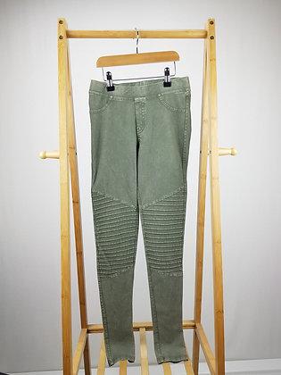 H&M khaki jeggings 13-14 years