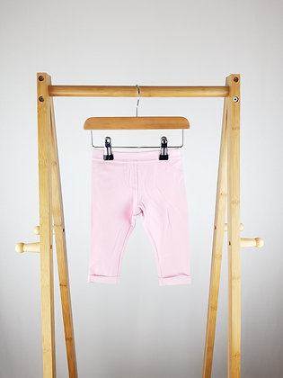 F&F pink jeggings 3-6 months