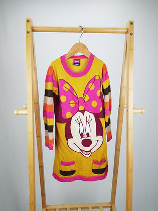 Disney at George knitted Minnie Mouse jumper dress 4-5 years