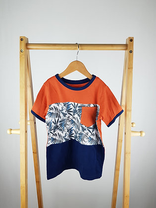 Lily&Dan palm leaves t-shirt 5-6 years