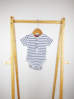 George short sleeve buttoned bodysuit 0-3 months