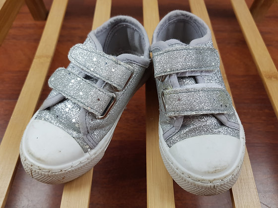 Matalan silver trainers UK 7