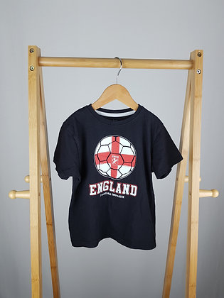 Primark England t-shirt 4-5 years