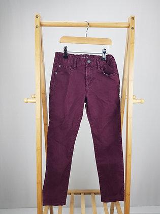 GAP burgundy jeans 10 years