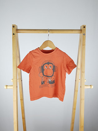 Mothercare monkey t-shirt 18-24 months