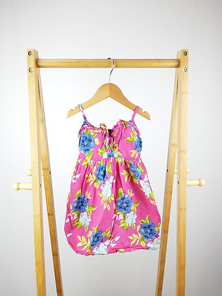 Early days floral dress 12-18 months