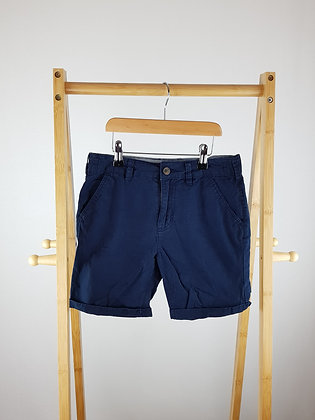 George navy shorts 9-10 years