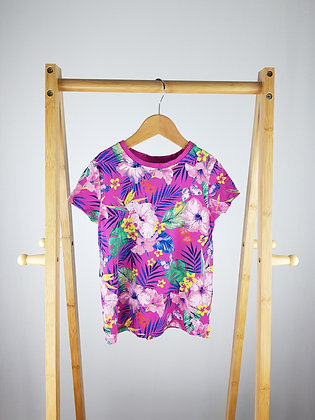 George floral t-shirt 6-7 years