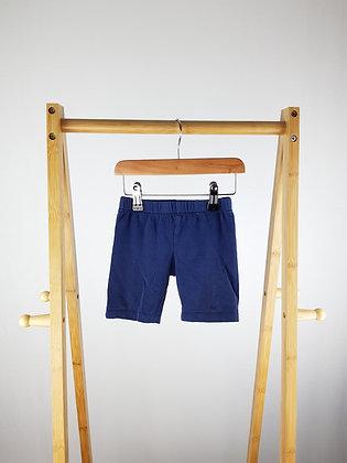 TU navy shorts 3-4 years