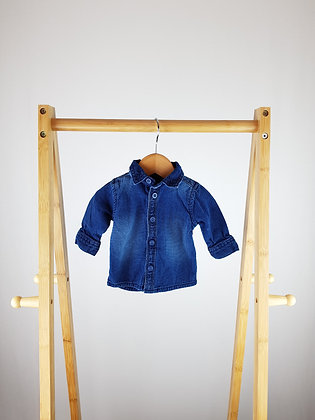 TU denim look shirt up to 1 month