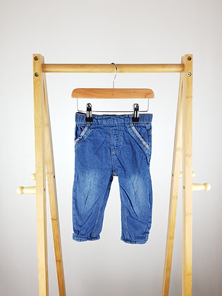 George lined jeans 12-18 months