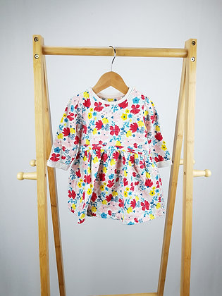 Mini club long sleeve floral dress 6-9 months