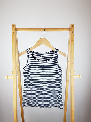H&M striped vest top 10-12 years