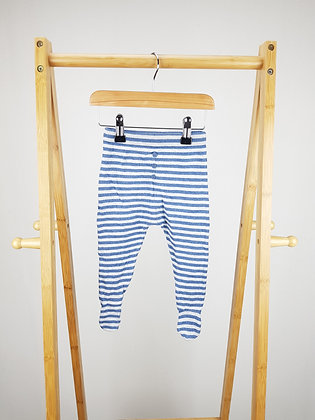 George knitted bottoms with closed feet 6-9 months