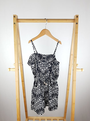 Primark patterned playsuit 9-10 years