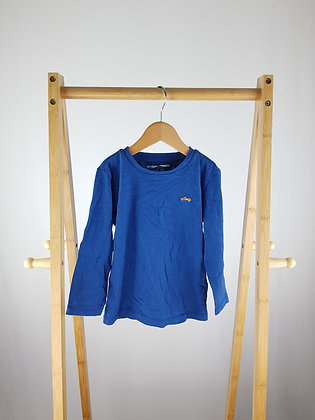 Next blue long sleeve top 2-3 years