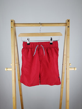 Rebel red shorts 9-10 years