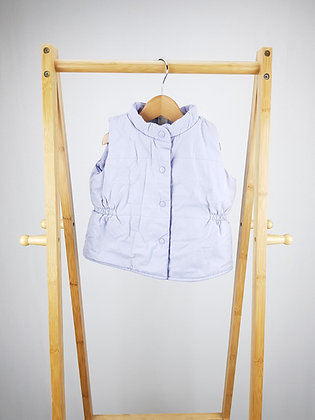 GAP lilac vest  2 years