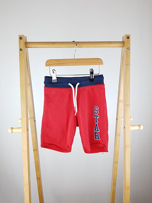 H&M red shorts 3-4 years