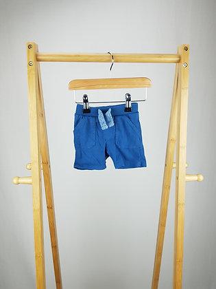F&F blue shorts 0-3 months