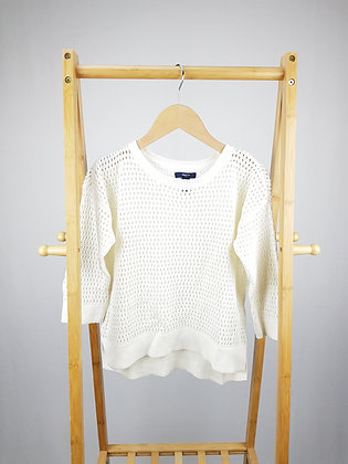 GAP white knitted sweater 12 years