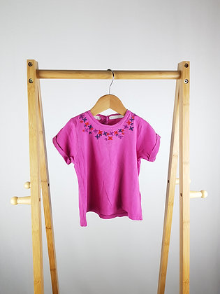 Vertbaudet embroidered t-shirt 2 years