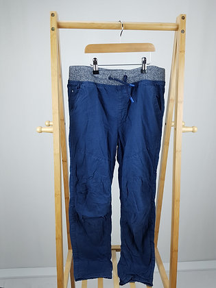 F&F lined blue trousers 13-14 years