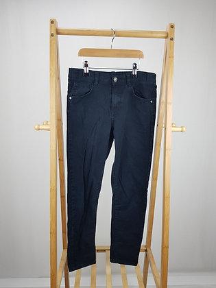 F&F black denim jeans 11-12 years