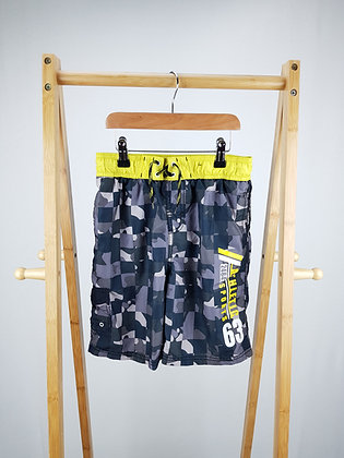 George camouflage shorts 9-10 years