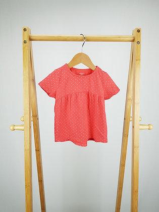 F&F spotted t-shirt 12-18 months